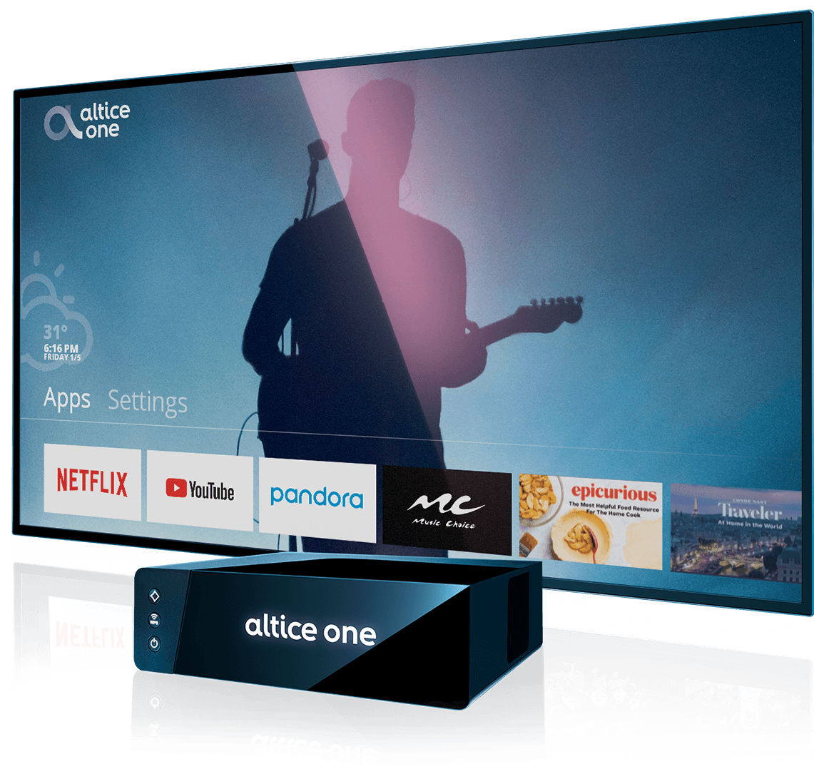 optimum | altice one