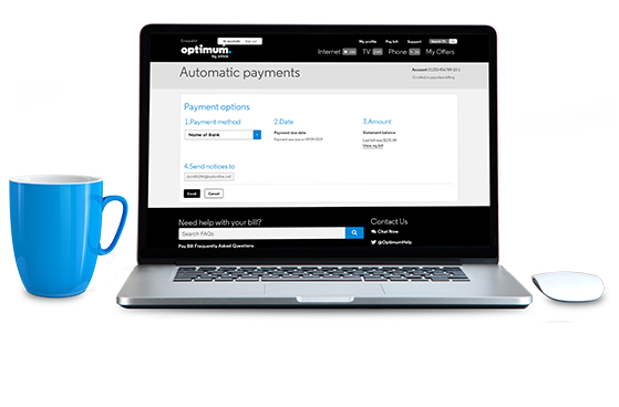 automatic payment update - How Do I Get Optimum To Lower My Bill