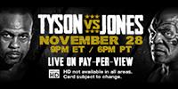 BOXEO: TYSON VS. JONES JR.