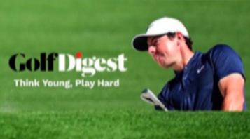 Golf Digest App on Altice One